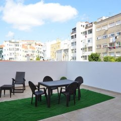 Апартаменты Mobilux Apartments Lisbon балкон