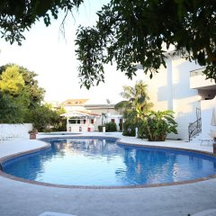 Отель Assinos Palace Джардини Наксос бассейн фото 3
