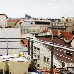 Отель Josef Чехия, Прага - 9 отзывов об отеле, цены и фото номеров - забронировать отель Josef онлайн балкон