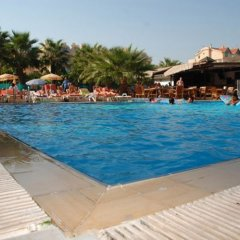 Club Dena Apartments Турция, Мармарис - отзывы, цены и фото номеров - забронировать отель Club Dena Apartments онлайн бассейн фото 2
