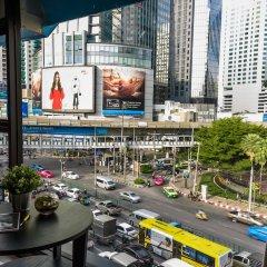 Отель The Connex Asoke Бангкок балкон
