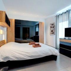 Отель Seaview Apartment In Fort Cambridge, Sliema Мальта, Слима - отзывы, цены и фото номеров - забронировать отель Seaview Apartment In Fort Cambridge, Sliema онлайн комната для гостей фото 3