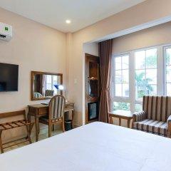 Отель Hoang Lan Hotel Вьетнам, Хошимин - отзывы, цены и фото номеров - забронировать отель Hoang Lan Hotel онлайн удобства в номере фото 2