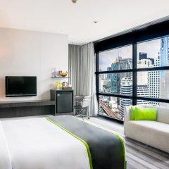 Отель Holiday Inn Bangkok Sukhumvit Бангкок комната для гостей фото 5
