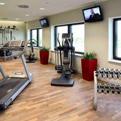 Отель Novotel München Airport фитнесс-зал