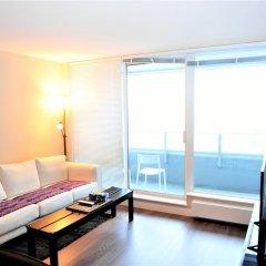 Отель Brand New 1bdr 1den Condo in Vancouver Канада, Ванкувер - отзывы, цены и фото номеров - забронировать отель Brand New 1bdr 1den Condo in Vancouver онлайн комната для гостей фото 4