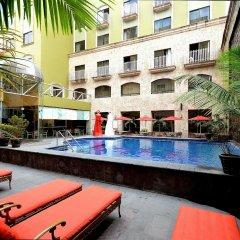 Отель Celta Мексика, Гвадалахара - отзывы, цены и фото номеров - забронировать отель Celta онлайн бассейн