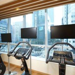 Отель Lotte City Hotel Myeongdong Южная Корея, Сеул - 2 отзыва об отеле, цены и фото номеров - забронировать отель Lotte City Hotel Myeongdong онлайн фитнесс-зал фото 2