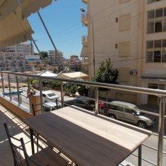 Апартаменты Ionian Beach Studio Саранда балкон