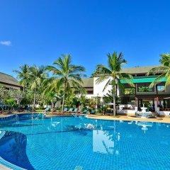 Отель First Bungalow Beach Resort Таиланд, Самуи - 6 отзывов об отеле, цены и фото номеров - забронировать отель First Bungalow Beach Resort онлайн бассейн фото 2