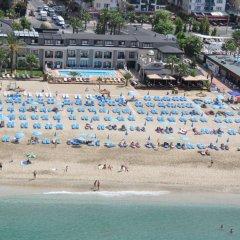 Отель Alaaddin Beach Аланья пляж фото 2