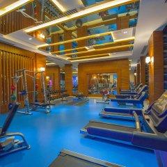 Отель Kirman Belazur Resort And Spa Богазкент фитнесс-зал