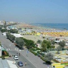 Отель Euromar Римини пляж фото 2