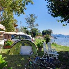 Отель Camping Villaggio Isolino Италия, Вербания - отзывы, цены и фото номеров - забронировать отель Camping Villaggio Isolino онлайн приотельная территория