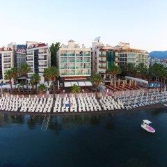 Sol Beach Hotel Турция, Мармарис - отзывы, цены и фото номеров - забронировать отель Sol Beach Hotel - All Inclusive - Adults Only онлайн приотельная территория
