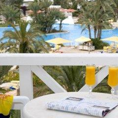 Отель Vincci Djerba Resort Тунис, Мидун - отзывы, цены и фото номеров - забронировать отель Vincci Djerba Resort онлайн балкон