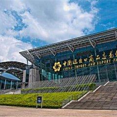 Отель Guangzhou Yu Cheng Hotel Китай, Гуанчжоу - 1 отзыв об отеле, цены и фото номеров - забронировать отель Guangzhou Yu Cheng Hotel онлайн приотельная территория фото 2