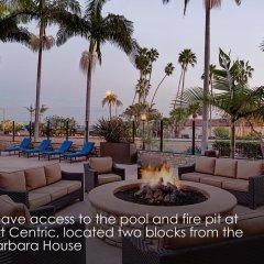 Отель Santa Barbara House пляж