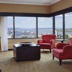 Отель Hilton Québec Канада, Квебек - отзывы, цены и фото номеров - забронировать отель Hilton Québec онлайн интерьер отеля фото 3