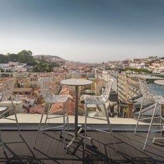 Отель NH Collection Lisboa Liberdade Португалия, Лиссабон - отзывы, цены и фото номеров - забронировать отель NH Collection Lisboa Liberdade онлайн балкон