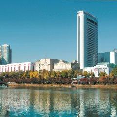 Отель Lotte World Сеул приотельная территория