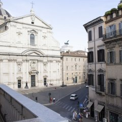Отель Le Quattro Dame Luxury Suites Рим балкон