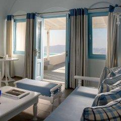 Отель Andromeda Villas Греция, Остров Санторини - 1 отзыв об отеле, цены и фото номеров - забронировать отель Andromeda Villas онлайн балкон