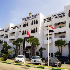 Отель Andalucia Golf Tanger Марокко, Медина Танжера - отзывы, цены и фото номеров - забронировать отель Andalucia Golf Tanger онлайн парковка