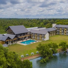 Отель Amora Lagoon Шри-Ланка, Сидува-Катунаяке - отзывы, цены и фото номеров - забронировать отель Amora Lagoon онлайн приотельная территория