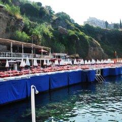 Bilem High Class Hotel Турция, Анталья - 2 отзыва об отеле, цены и фото номеров - забронировать отель Bilem High Class Hotel онлайн приотельная территория фото 2