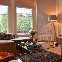 Апартаменты 2 Bedroom Apartment in St Johns Wood London комната для гостей фото 5