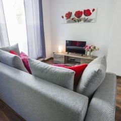 Отель Galeria Italiana Apartments Польша, Вроцлав - отзывы, цены и фото номеров - забронировать отель Galeria Italiana Apartments онлайн комната для гостей фото 5