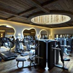 Отель The Alpina Gstaad Швейцария, Гштад - отзывы, цены и фото номеров - забронировать отель The Alpina Gstaad онлайн фитнесс-зал фото 2