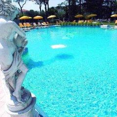 Отель Terme Helvetia Италия, Абано-Терме - 3 отзыва об отеле, цены и фото номеров - забронировать отель Terme Helvetia онлайн бассейн фото 3