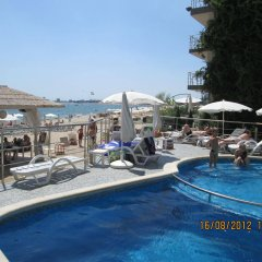 Отель Sunny Beauty Aparthotel Солнечный берег бассейн