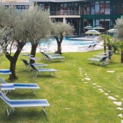 Отель Atlantic Terme Natural Spa & Hotel Италия, Абано-Терме - отзывы, цены и фото номеров - забронировать отель Atlantic Terme Natural Spa & Hotel онлайн пляж фото 2