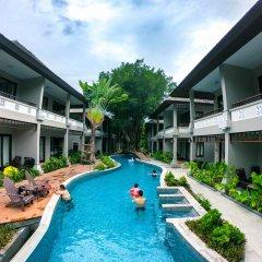 Отель Chaweng Garden Beach Resort Таиланд, Самуи - 1 отзыв об отеле, цены и фото номеров - забронировать отель Chaweng Garden Beach Resort онлайн бассейн фото 3