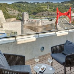 Gran Hotel Domine Bilbao балкон