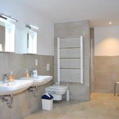 Отель Trafford Sky Homes Германия, Лейпциг - отзывы, цены и фото номеров - забронировать отель Trafford Sky Homes онлайн ванная
