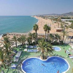 Caprici Hotel пляж