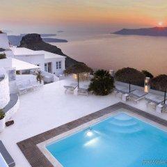 Отель Andromeda Villas Греция, Остров Санторини - 1 отзыв об отеле, цены и фото номеров - забронировать отель Andromeda Villas онлайн бассейн фото 2