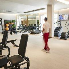 Отель Emerald Palace Kempinski Dubai ОАЭ, Дубай - 2 отзыва об отеле, цены и фото номеров - забронировать отель Emerald Palace Kempinski Dubai онлайн фитнесс-зал фото 3