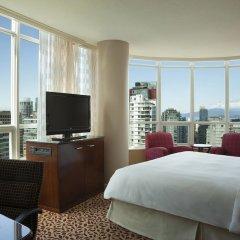 Отель Vancouver Marriott Pinnacle Downtown Hotel Канада, Ванкувер - отзывы, цены и фото номеров - забронировать отель Vancouver Marriott Pinnacle Downtown Hotel онлайн комната для гостей фото 4