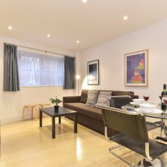 Отель Churchill Nike Apartments Великобритания, Лондон - отзывы, цены и фото номеров - забронировать отель Churchill Nike Apartments онлайн комната для гостей фото 5
