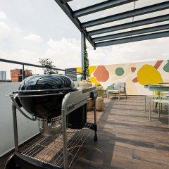 Апартаменты Cute Studio on top Floor in Condesa Мехико фото 8