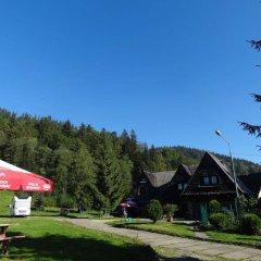 Отель Camping Harenda Pokoje Gościnne i Domki Закопане парковка