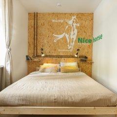 Nice Hostel Павелецкая Номер с общей ванной комнатой с различными типами кроватей (общая ванная комната) фото 3