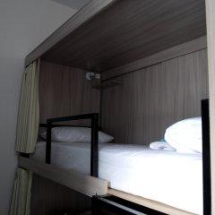 Хостел Кроличья Нора Кровати в общем номере с двухъярусными кроватями фото 4