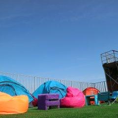 Гостиница Zvezda Rooftop Camping Номер категории Эконом с различными типами кроватей