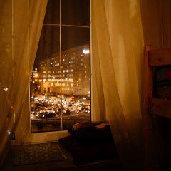 Хостел Камчатка Кровать в мужском общем номере с двухъярусными кроватями